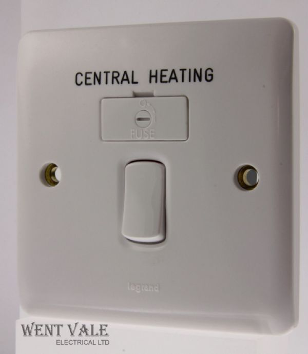 Legrand Synergy - 7300 34CG - 13a Switched Fused Spur Engraved Central Heating